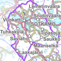 kartta suomen järvet